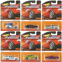 2015 Hot Wheels Patrimonio Redline 6-coche Set (cobre Stoppe