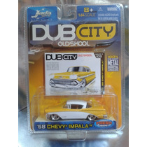 Jada - 58 Chevy Impala Dub City Del 2005 En Blister