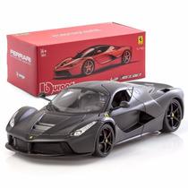 Burago Laferrari 1/18 Signature Black Mate Series Ferrari