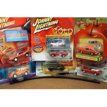 Lote 6 Autos Surtidos Johnny Lightning Lee Anuncio
