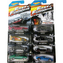 Hotwheels Rapido Furioso Serie Compl. Blisters Impecables !