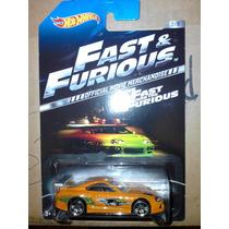 Hot Wheels Rapido Y Furioso 2014 Toyota Supra Tarjeta Usa
