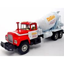 Camion Mack Torton Revolvedora Concreto A Escala 1:34