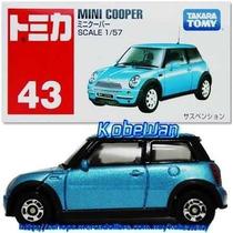 Tomica Carrito Mini Cooper Takara Metalico 1/57 Carro Escala
