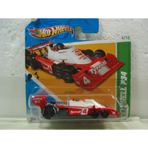 Hot Wheels T Hunt Tyrrell P34 Rojo 56/247 2012 Tc