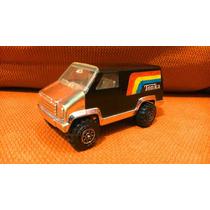 Tonka - Camioneta Van Metálica Cromada Vintage Años 70s 80s