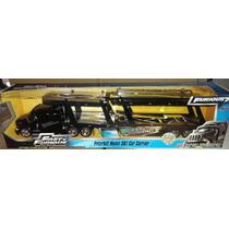1:64 Peterbilt Model 387 Nodriza Jada Rapido Y Furioso 1/64