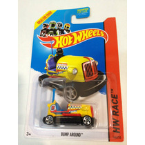 Bump Around Hw Racing D Hotwheels 2014 Carrito Chocon