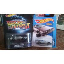 Hotwheels Delorean Volver Al Futuro Hover Mode Set 2 Piezas