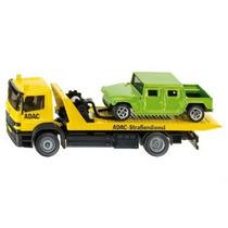 Camion Con Plataforma Y Auto Siku Escala 1:55