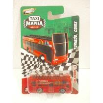 Taxi Mania Camion Doble Piso Turibus Cdmx Rojo