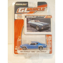 Greenlight 1969 Chevrolet Yenko Copo Chevelle Azul 1:64