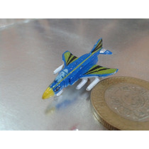 Galoob - Avion Caza Tipo Micro Machines De 1989