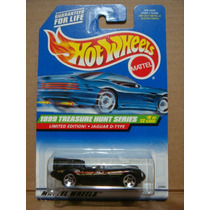 Hot Wheels Collector 936 1999 Jaguar D Type Trea$ure Hunt