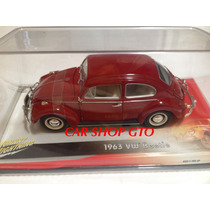 Volkswagen Sedan 1963 Marca Johnny Lightning Escala 1:18