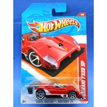 2011 Hot Wheels Thrill Racers Ferrari F333 Sp Rojo