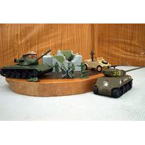 Lee Anunc X Lote 2 Tanque & Kuvelwagen Bunker Y 10 Fig 1/72