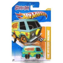 ¡scooby Doo! La Máquina Del Misterio Hot Wheels 2012 Nuevos