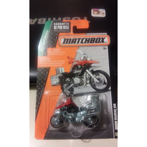 Matchbox De Coleccion 2015 Moto Bmw R1200 Gs Roja