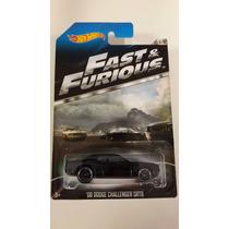 Dodge Challenger Srt8 Rapido Y Furioso 1:64 - Colección 2013