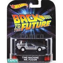 Hot Wheels Coleccion Back The Future I Delorian Time Machine