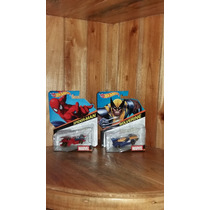 Hot Wheels Por Piezas Marvel Avengers, Spiderman Wolverine