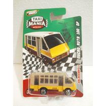 Taxi Mania Micro Ruta 100 Df Cafe/amarillo 1:64