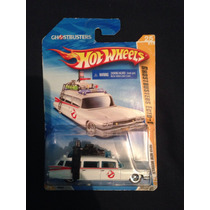 Hot Wheels Ghostbusters Ecto-1 En Su Empaque Original!