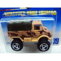 Mercedes Benz / Unimog (1993 Hw Serie) Militar Remueve Techo