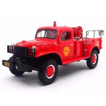 1:34 Dodge Power Wagon Pickup 1949 Bomberos Shell