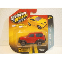 Adventure Wheels Camioneta Roja
