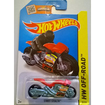 Hot Wheels - Street Stealth - 2015 - Motocicleta