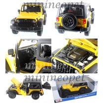 Jeep Wrangler Rubicon2014 1:18 Maisto No Burago