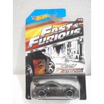 Hot Wheels Rapidos Y Furiosos Nissan 350z Gris 5/8