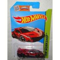 Hot Wheels Lamborghini Veneno Rojo