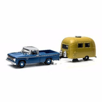 Greenlight Hitch & Tow Pick Up Dodge Y Remolque Serie 3 1/64