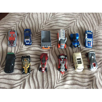 12 Carritos Hot Wheels, Matchbox Etc Más De 60 Diferentes