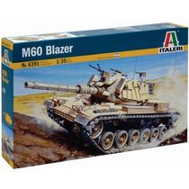 Tanque Italeri M60 Blazer 1/35 Armar Pintar / No Revell