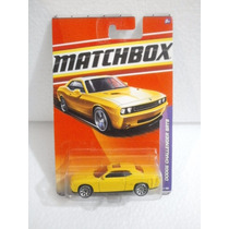 Matchbox Dodge Challenger Srt8 Amarillo 1:64 Metal