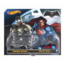 Cb! - Hot Wheels Batman Vs Superman Vehículos De La Película