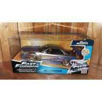 Rapido Y Furioso Jada Toys Brian S Nissan Skyline Gt-r 1/24