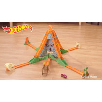 Pista Hot Wheels - Volcan Explosivo