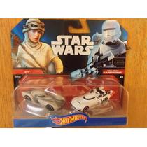 Hot Wheels Star Wars Rey Flametrooper Pack The Force Awakens