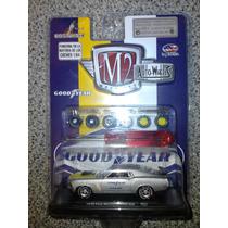 M2 Machines 1970 Ford Mustang Boss 429 Set Llanta Goma Chase