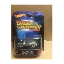Hot Wheels Retro - Delorean Volver Al Futuro
