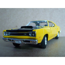 Dodge Charger Coronet 1969 Motor Max 1/24 Coleccion Autos