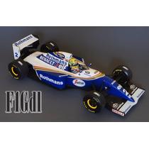 F1 Ayrton Senna Williams Fw16 1994 Rothmans Escala 1/18