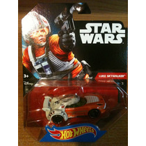 Luke Skywalker Hot Wheels Star Wars Personajes.