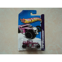 Hot Wheels Llantas De Goma Super T-hunt Bone Shaker