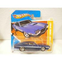 Hot Wheels 72 Ford Gran Torino Sport Azul 2/244 2011 Tc